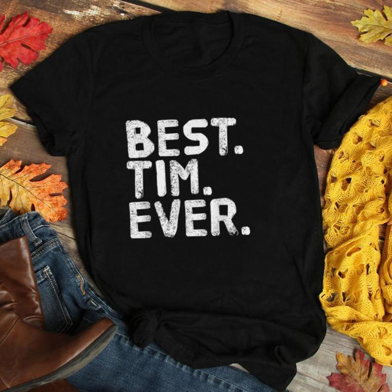 BEST. TIM. EVER. Funny Men Father's Gift Idea T Shirt
