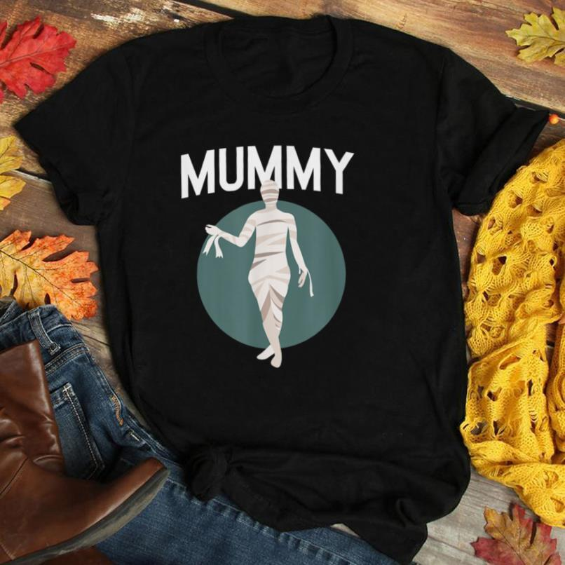 Deady Mummy Matching Mom Dad Halloween Funny Couples T Shirt