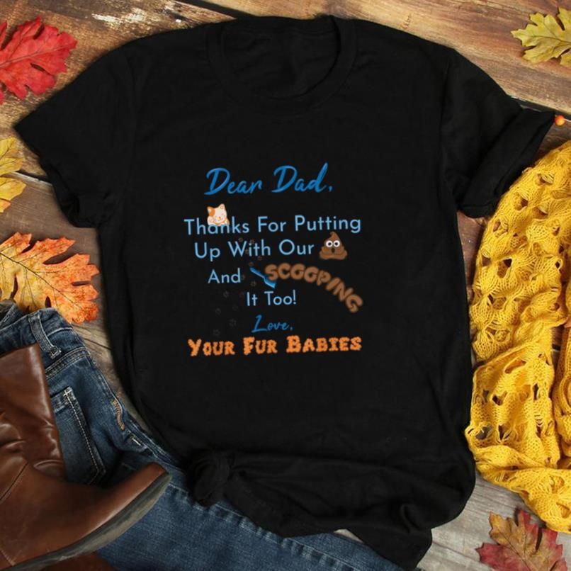 From Fur Babies for Father   Father's Day Cat Dad T Shirt