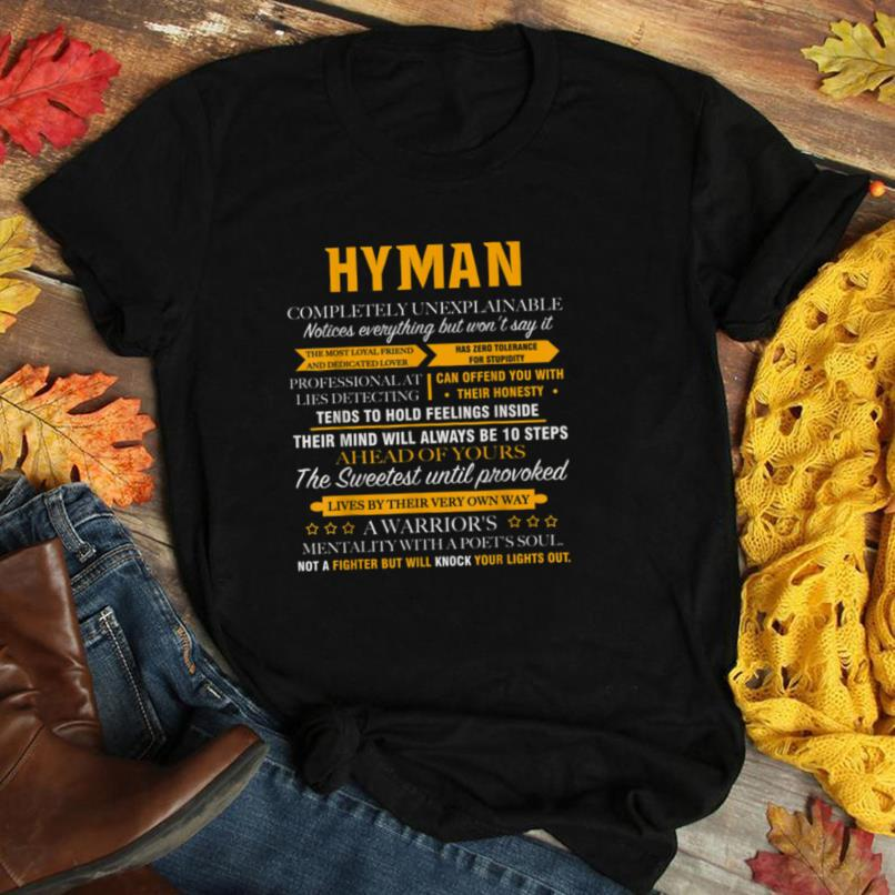 HYMAN completely unexplainable name shirt father's day 7