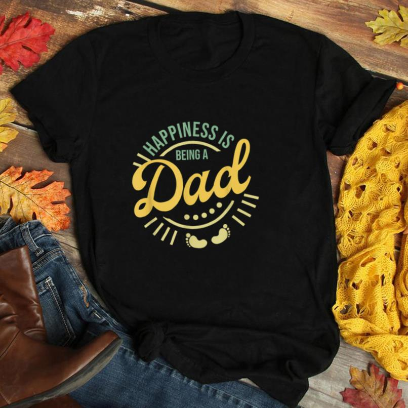 Happiness is being a dad shirt   Daddy To Be