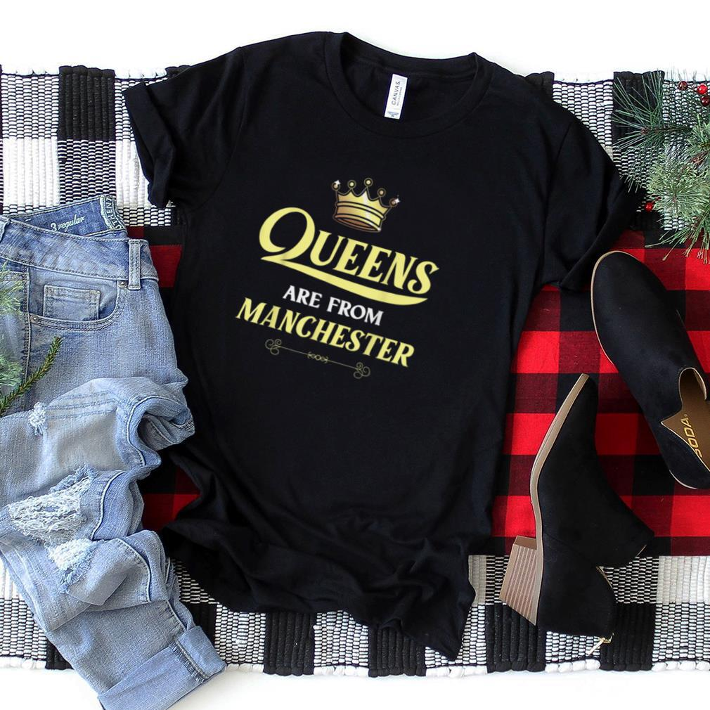 MANCHESTER Gift Funny Home Roots Grown Born In City USA T Shirt