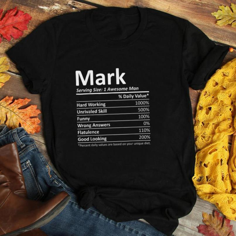 MARK Nutrition Funny Birthday Personalized Name Gift Idea T Shirt