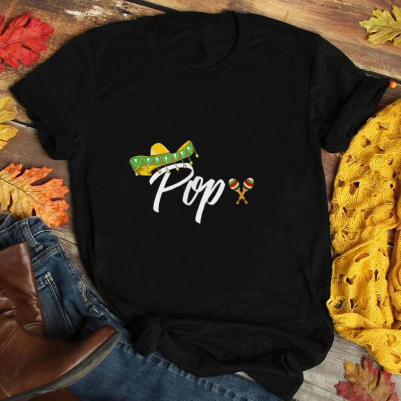 Mens Fiesta Mexican Party Pops Cinco De Mayo Father's Day T Shirt