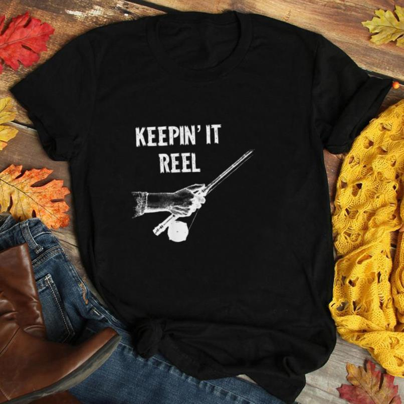 Men's Funny Fishing Shirt, Keep It Reel, Father's Day T Shirt