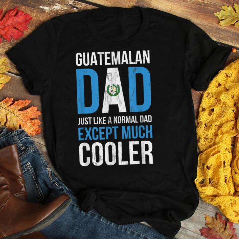 Mens Guatemala Cooler Dad Promoted to Daddy T Shirt