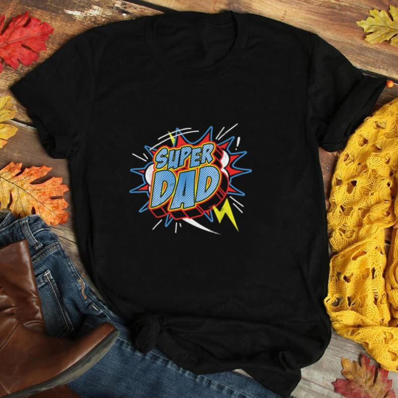 Super Dad Superhero Gift T Shirt Father's Day Gift Tee T Shirt