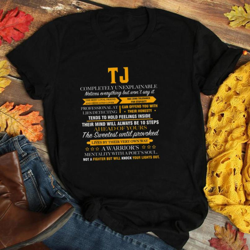 TJ completely unexplainable name shirt father's day 6