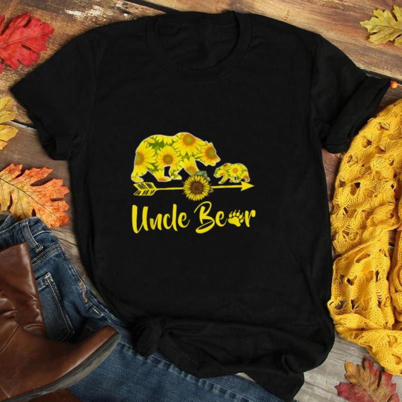 Uncle Bear Sunflower T Shirt Funny Mother Father Gifts T Shirt