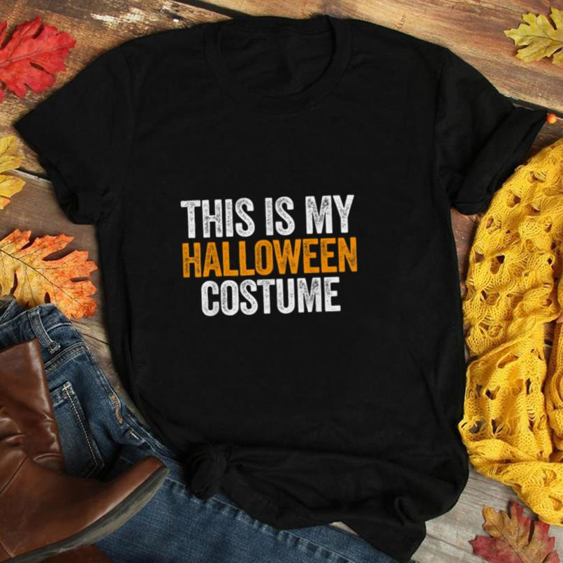 Vintage This Is My Halloween Costume Apparel, Funny Retro T Shirt