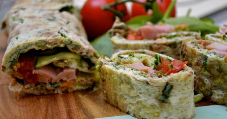 Mrs P's NO bread picnic rolls