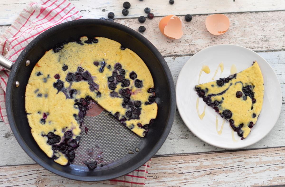 Simple Blueberry Breakfast Slice