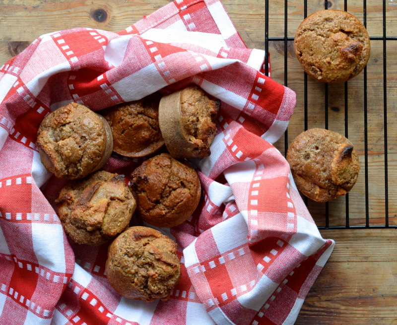 Paleo Apple and Cinnamon Breakfast Muffins