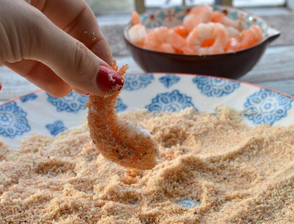 Crunchy Paprika Prawns