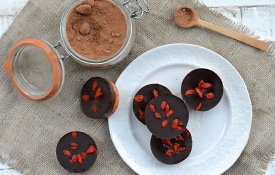 Double Chocolate Superfood Cups