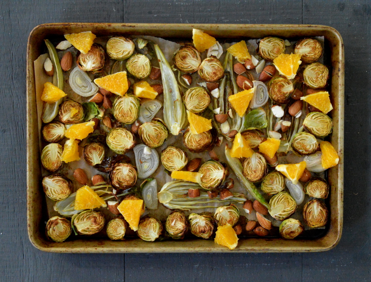 Christmas Paleo Side Dish Brussels Sprouts