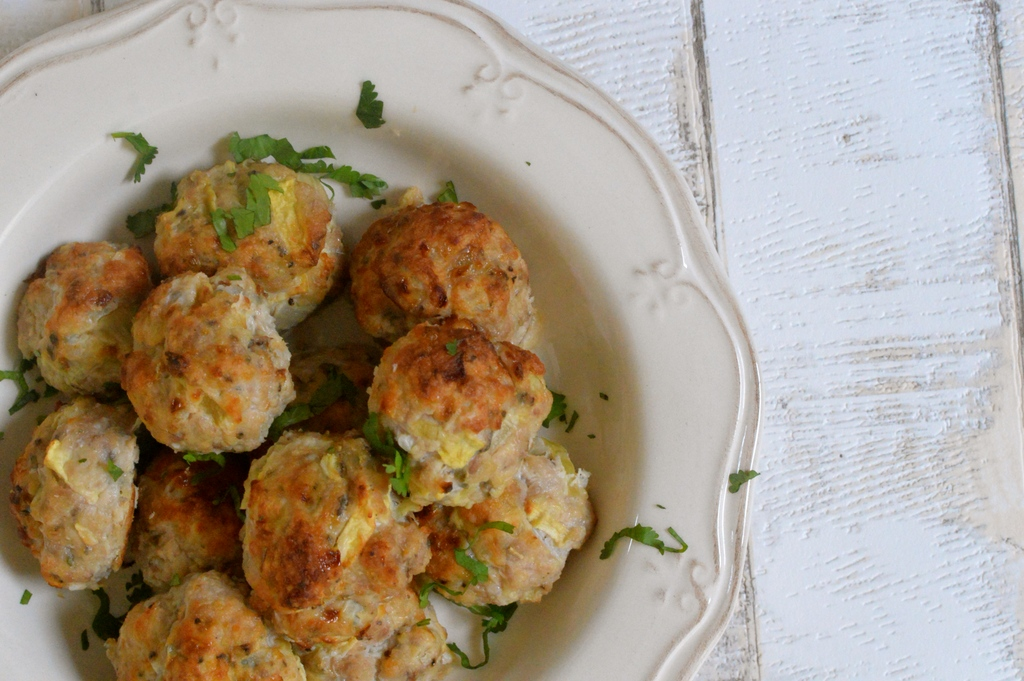 Apple and Sage Sausage Balls