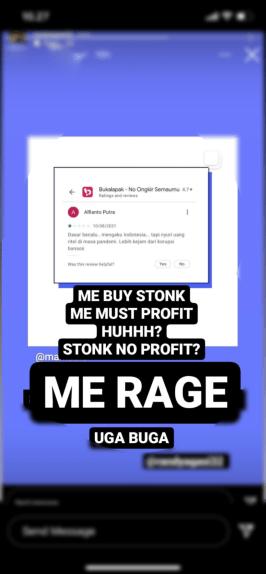 Bukalapak IPO - Instagram