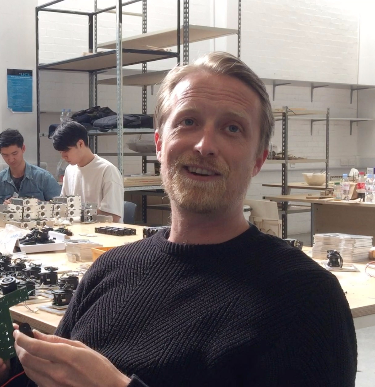 Building IRIS: Interview with Director of Interactive Architecture Lab Ruairi Glynn