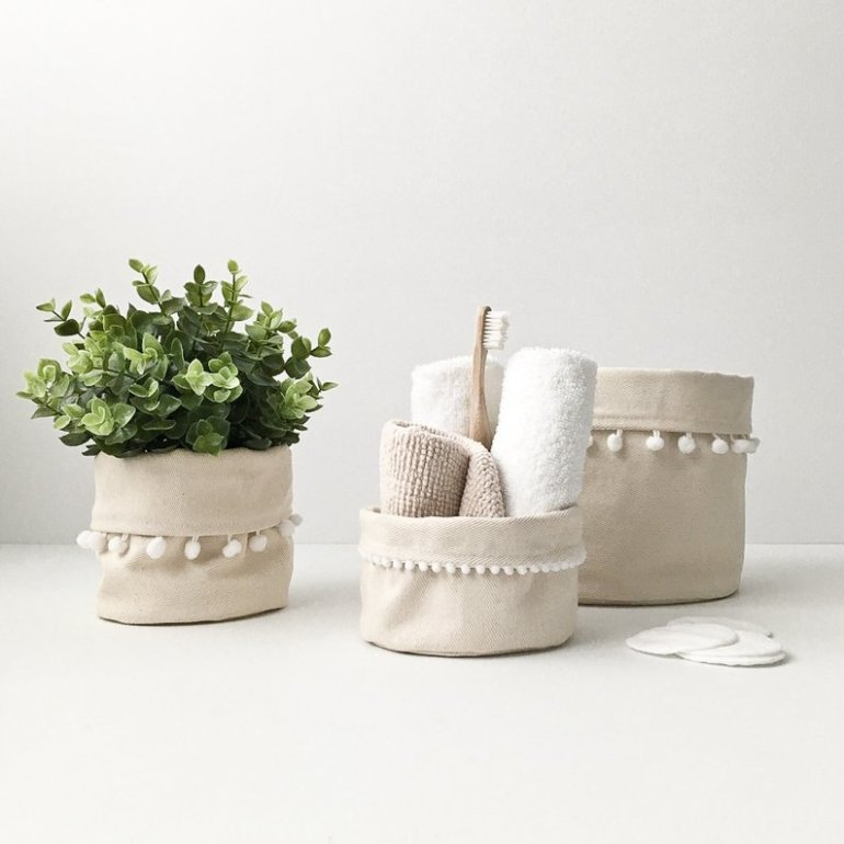 The Cutest Baskets and Planters from Etsy | Luxuriously Thrifty