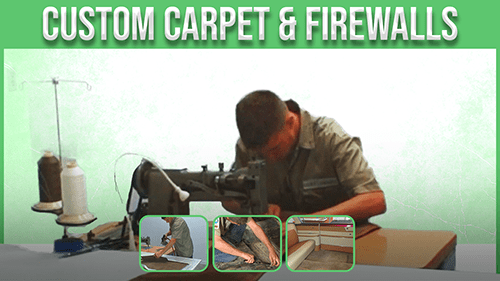 Custom carper and firewalls