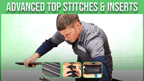 advanced top stiches and inserts