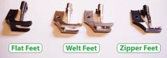 feet comparison