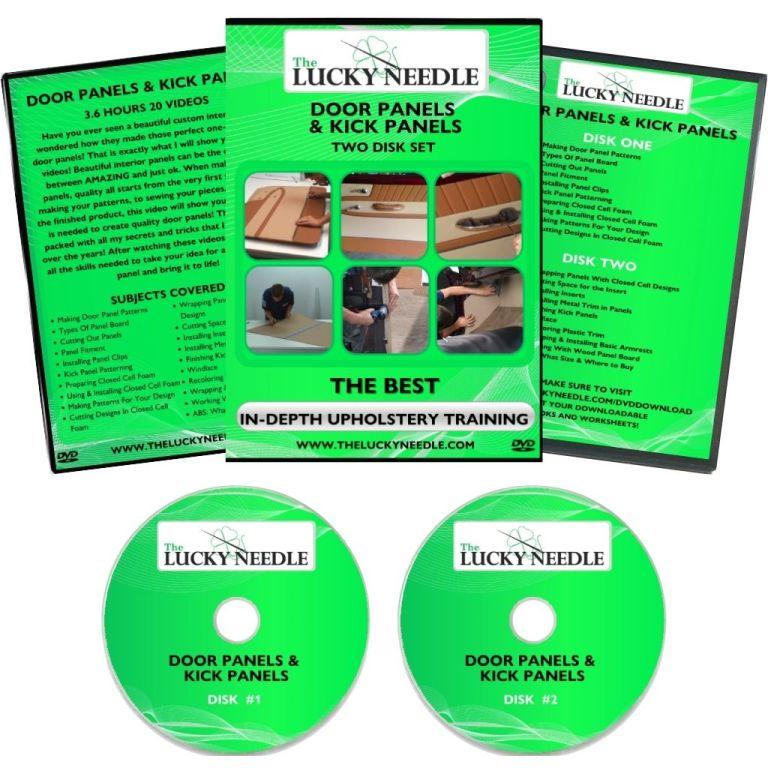 Door Panels & Kick Panels Course Upholstery Training DVD