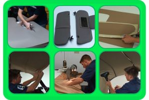 Pictures from Suspended Headliners, Molded Headliners & Sun Visors Course Upholstery DVD