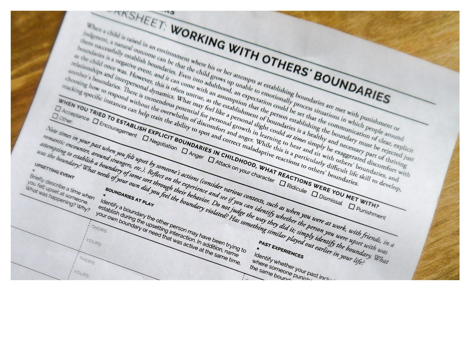 Working With Others Boundaries V1 0
