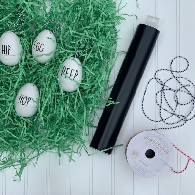 How to Turn Plastic Easter Eggs into Classy Decor
