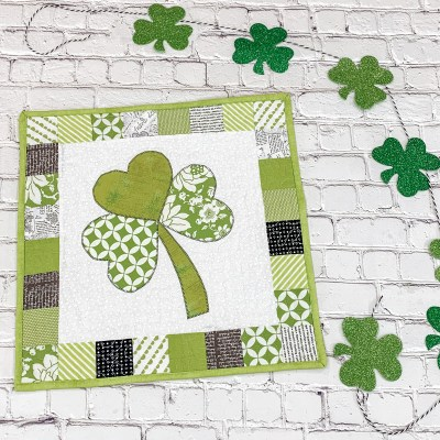 Lucky You! | Free St. Patrick's Day Quilt Pattern