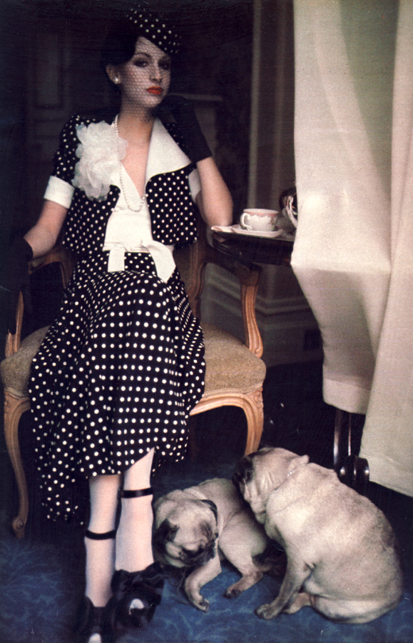 Biba referencing Wallis Simpson in a photograph by Bob Richardson