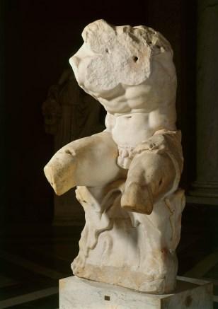 Belvedere Torso, 1st century BC. Vatican, Museo, Pio-Clementino. Height 220cm x width 92cm. © 2015. Photo Scala, Florence