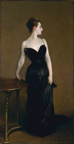 Madame X by John Singer Sargent - 1884