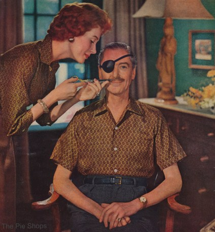Hathaway Shirts Ads ( always have eyepatch)