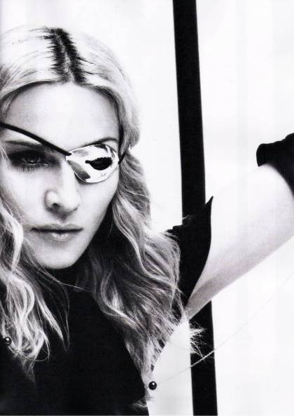 Madonna, Vogue Brazil, December 2008 by Steven Klein