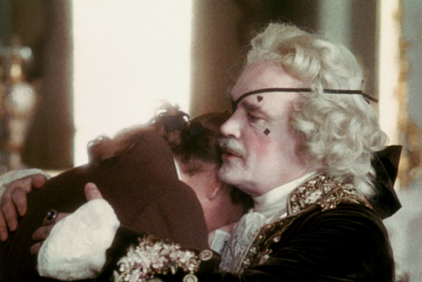 Patrick Magee as The Chevalier du Balibari in Stanley Kubrich's Barry Lyndon 1975