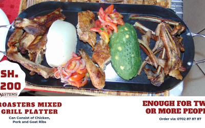 Mixed Grill, The Roasters Way!