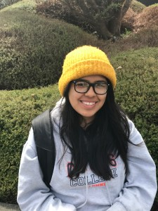 "Jacqueline Gomez, junior, engineering ""It was like a slap in the face because they're not telling us where the money's going. And I know Lisa [Rossbacher] got a salary increase. So she can get a salary increase, but we have to pay more tuition?"""
