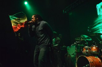 Damian Marley opened up his concert at The Mateel Community Center in Redway, Calif.