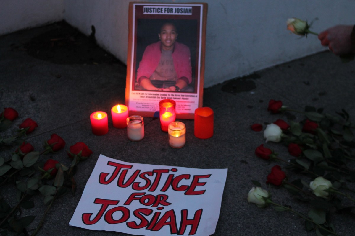 Justice Still Sought for Josiah