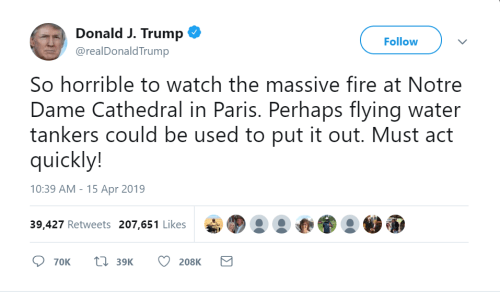 Trump Viral Notre Dame Tweet.PNG
