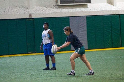 Women's Rugby Preps for Upcoming Season