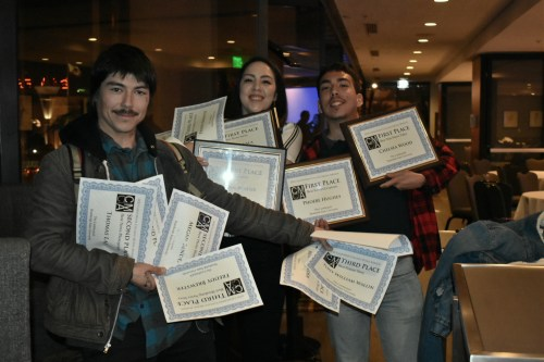 The Lumberjack Takes Home 14 Media Awards