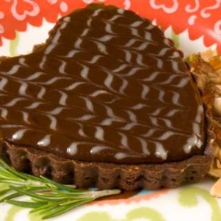Burnt Sugar & Rosemary Chocolate Tarts