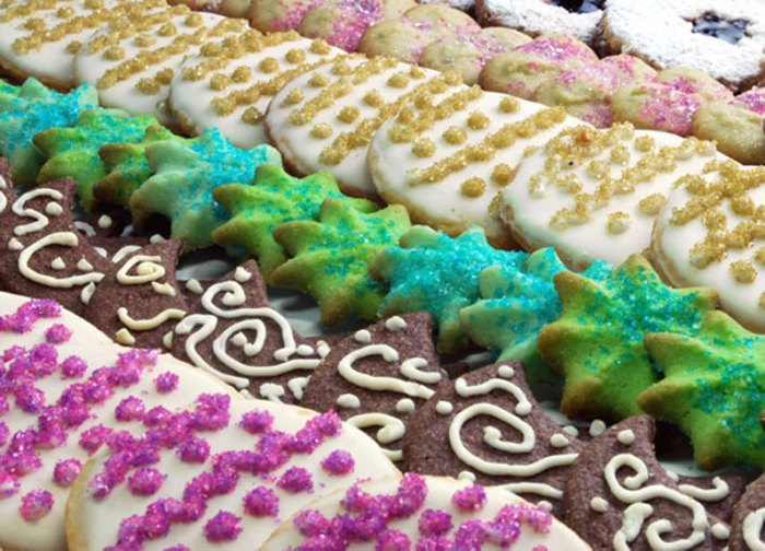 The Twelve Days of Christmas Cookies: Deck the Halls Collection