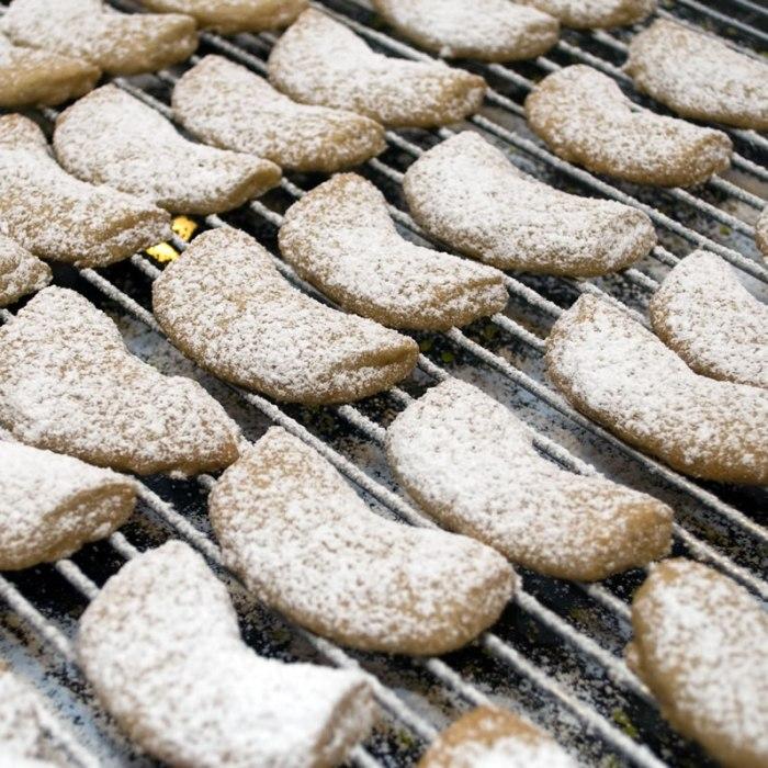 Comfort & Joy Spice Cookies on Wire Rack