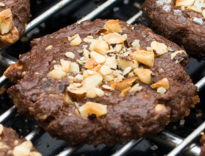 Mocha Java Hazelnut Cookie Close Up
