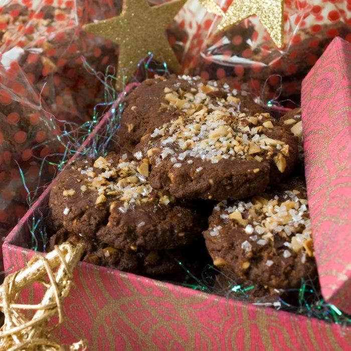 Mocha Hazelnut Cookies in Box